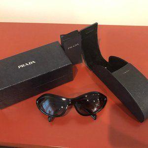 PRADA Womens Designer Sunglasses Black